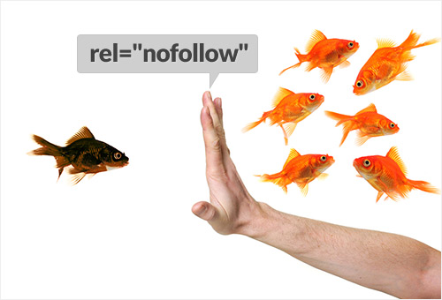 nofollow menue links