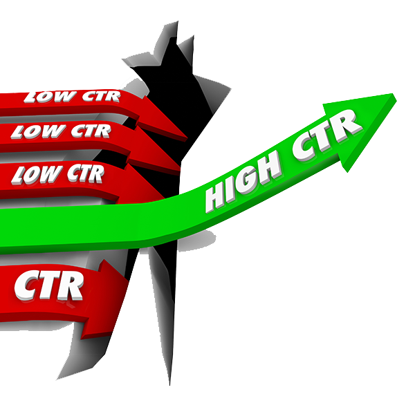 نرخ کلیک یا CTR